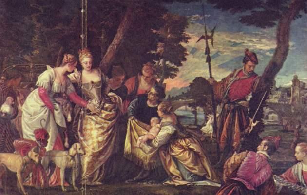 Die Auffindung Mosis Gemäldegalerie