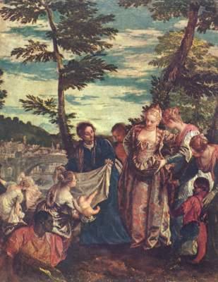 Errettung des Mosesknaben aus den Fluten des Nils Museo del Prado