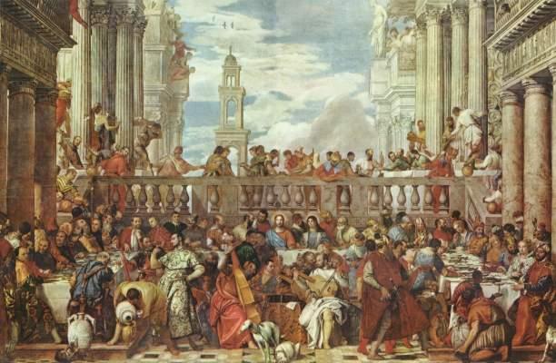 Hochzeit zu Kanaa Musée National du Louvre