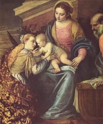 Mystische Vermählung der heiligen Katharina Musée Fabre