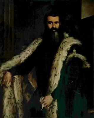 Porträt des Daniele Barbaro Palazzo Pitti