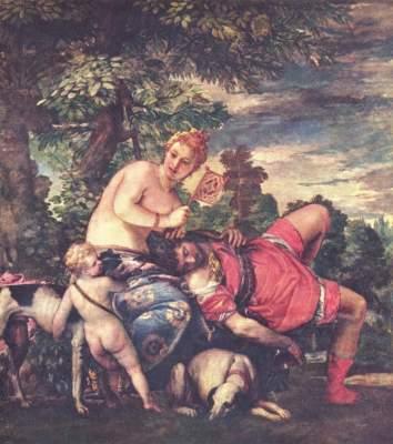 Venus und Adonis Museo del Prado