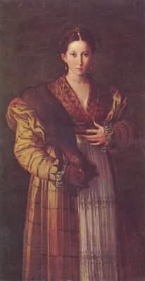 Bildnis einer jungen Dame, genannt Anteia Galleria Nazionale di Capodimonte