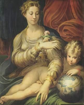 Die Madonna mit der Rose Gemäldegalerie