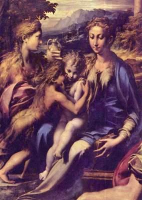 Madonna mit dem Hl. Zacharias Galleria degli Uffizi