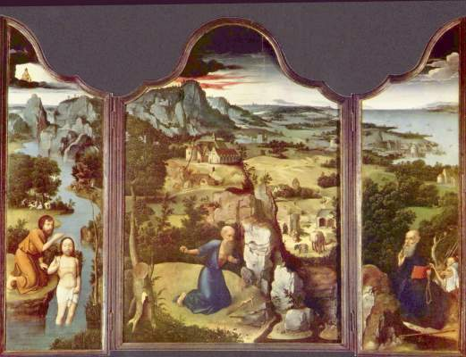 Buße des Hl. Hieronymus Metropolitan Museum of Art