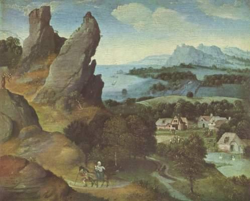 Flucht nach Ägypten Koninklijk Museum voor Schone Kunsten