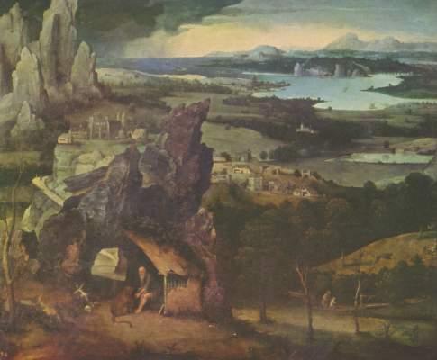 Hl. Hieronymus in einer Landschaft Koninklijk Museum voor Schone Kunsten