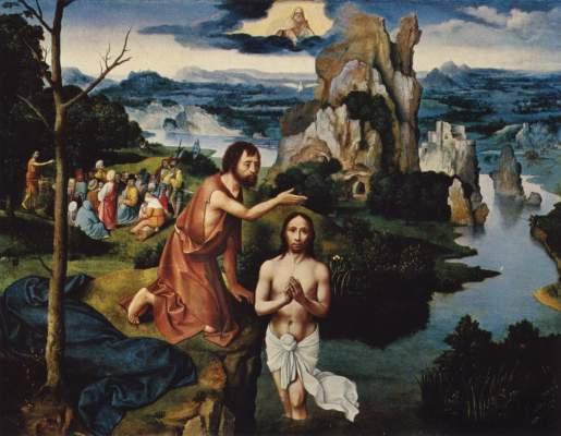 Taufe Christi Kunsthistorisches Museum