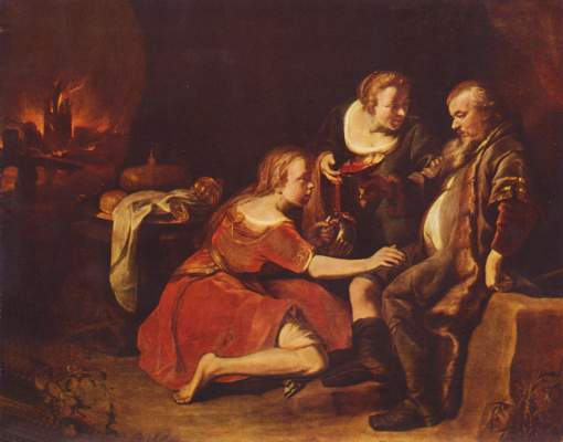 Loth und seine Töchter Museum der Bildenden Künste