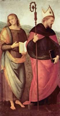 Johannes der Täufer und der heilige Augustinus Musée des Augustins