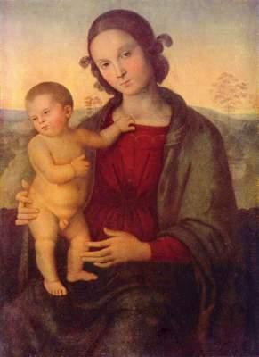 Madonna Puschkin-Museum der bildenden Künste