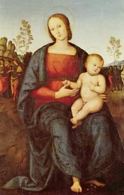 Madonna mit Kind Galleria Nazionale di Capodimonte