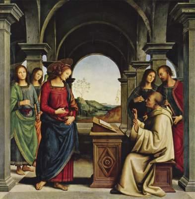 Vision des Hl. Bernhard Alte Pinakothek