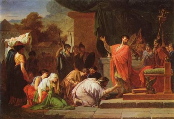 König Perseus vor Aemilius Paulus Museum der Bildenden Künste