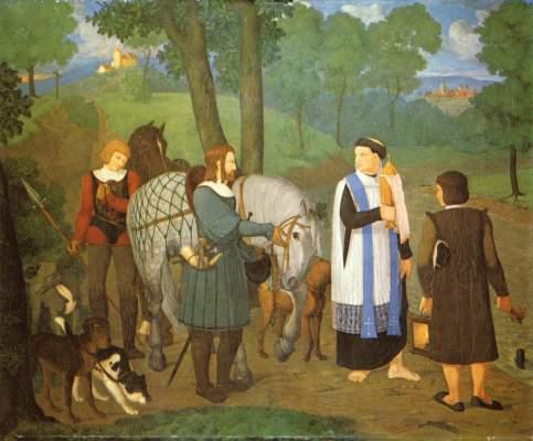 Rudolf von Habsburg und der Priester Städelsches Kunstinstitut