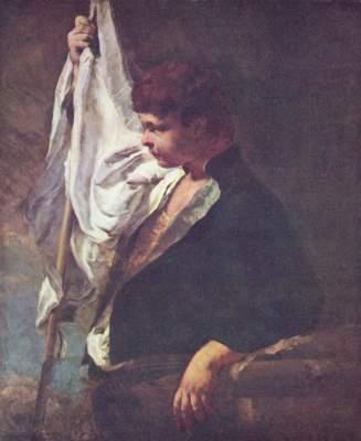 Ein junger Fahnenträger Gemäldegalerie
