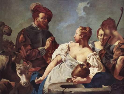 Rebecca am Brunnen Pinacoteca di Brera