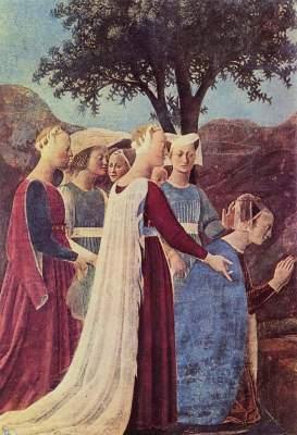 Besuch der Königin von Saba bei König Salomo San Francesco