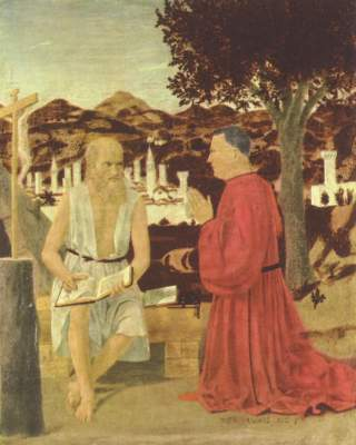 Hl. Hieronymus und ein Stifter Gallerie dell'Accademia