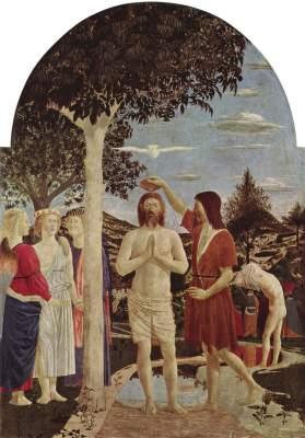 Taufe Christi National Gallery