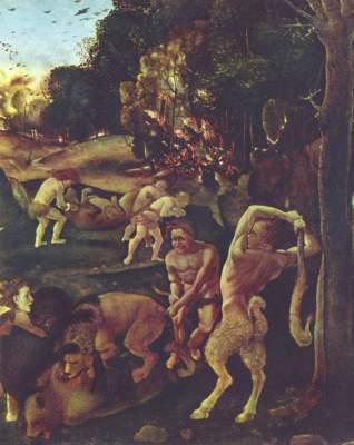 Jagdszene (Ausschnitt) Metropolitan Museum of Art