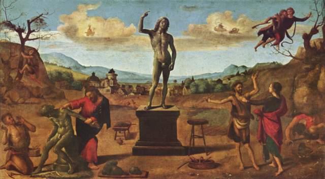 Szene aus der Prometheus-Sage Alte Pinakothek