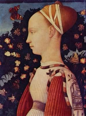 Porträt der Ginevra d'Este Musée National du Louvre