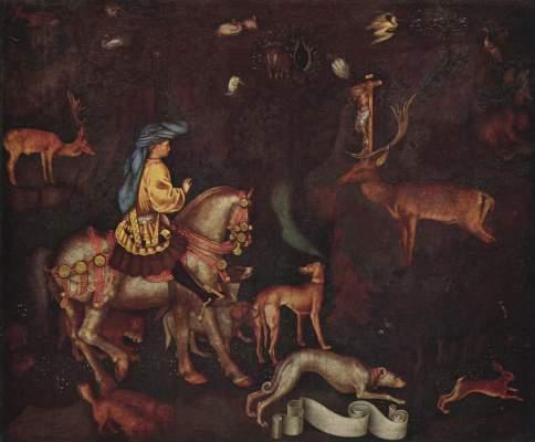 Vision des Hl. Eustachius National Gallery