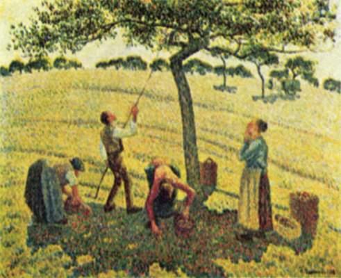 Apfelernte in Eragny Museum of Fine Arts