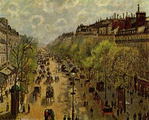 Boulevard Montmartre, Frühling Slg. Loeb