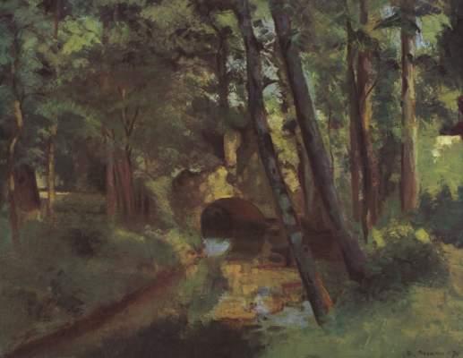 Kleine Brücke von Pontoise Kunsthalle