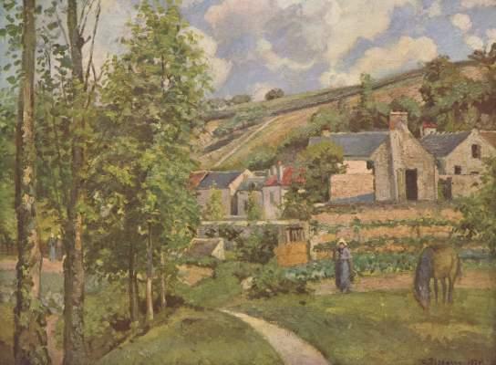 Landschaft bei Pontoise Slg. Dr. Oscar Reinhart