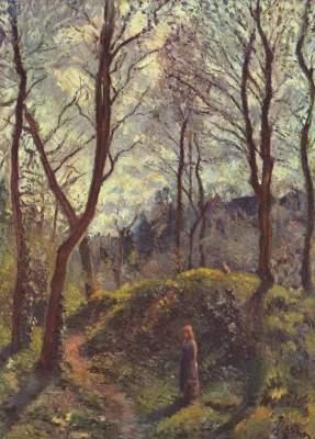 Landschaft mit großen Bäumen  Ny Carlsberg Glyptotek
