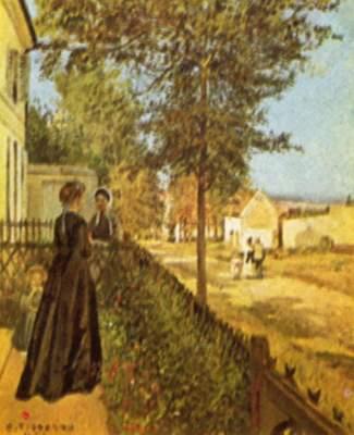 Loviecennes, die Straße nach Versailles Slg. Emil Georg Bührle
