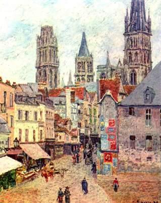 Rouen, Rue de l'Épicerie Privat-Slg.