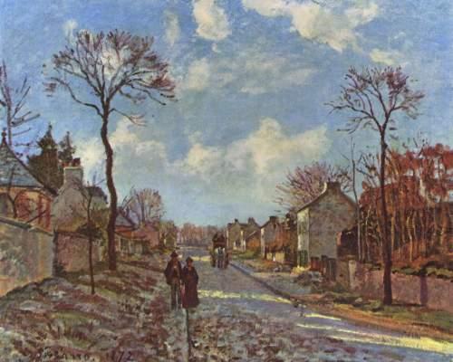 Straße von Louveciennes Musée de l'Impressionisme