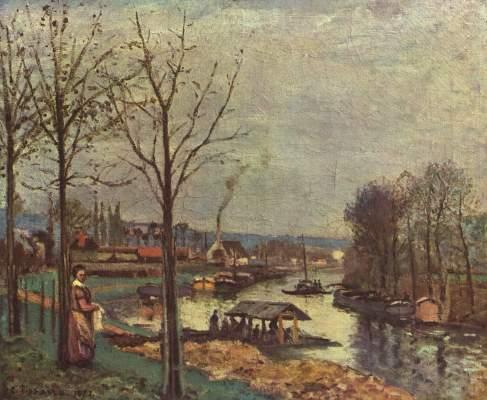 Waschplatz von Pontoise Musée de l'Impressionisme