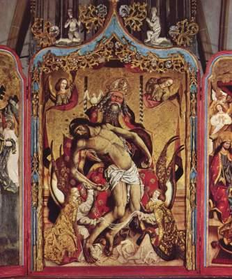 Hochaltar: Gnadenstuhl Schloßkapelle