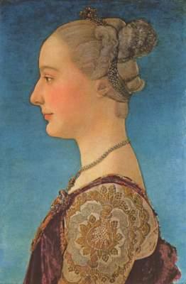 Bildnis einer Dame Galleria degli Uffizi