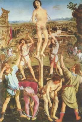 Das Martyrum des hl. Geistes (in Zusammenarbeit mit Piero del Pollaiuolo) National Gallery