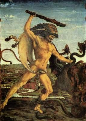 Herakles und die Hydra Galleria degli Uffizi