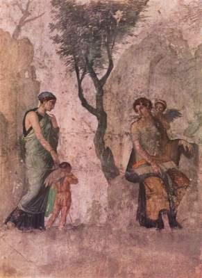 Der bestrafte Amor (Pompejanische Kopie nach einem griechischen Original) Galleria Nazionale di Capodimonte