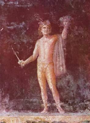 Perseus (Pompejanische Nachahmung eines griechischen Vorbildes des 3. Jhs. v. Chr.) Antiquarium