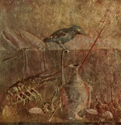 Pompejanisches Fresko Galleria Nazionale di Capodimonte