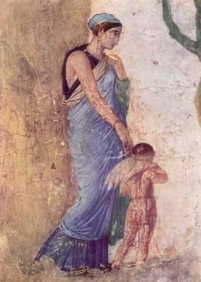 Venus und der bestrafte Amor (Ausschnitt) Galleria Nazionale di Capodimonte