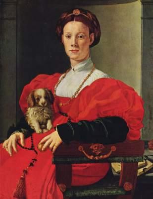 Bildnis einer Dame in rotem Kleid Städelsches Kunstinstitut