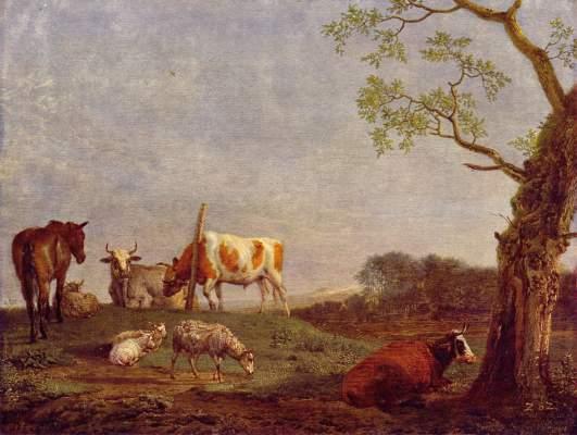 Ruhende Herde Gemäldegalerie