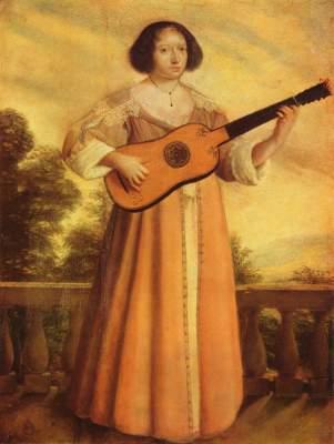 Gitarrenspielerin Museum der Bildenden Künste