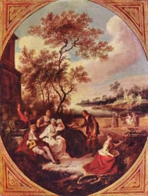 Die vier Jahreszeiten: Frühling Slg. Thyssen-Bornemisza